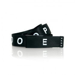 Dope Statement Belt Black - UNI