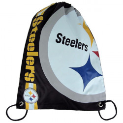 Forever Collectibles NFL Cropped Logo Gym Bag Steelers - UNI