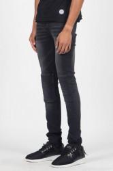 Jeans Sixth June Jean Pleated Black Farba: Čierna, #1