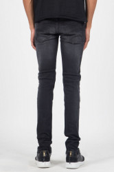 Jeans Sixth June Jean Pleated Black Farba: Čierna, #2