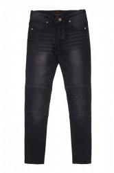 Jeans Sixth June Jean Pleated Black Farba: Čierna, #3