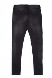 Jeans Sixth June Jean Pleated Black Farba: Čierna, #4