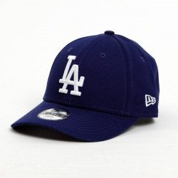 Kids NEW ERA 9FORTY YOUTH MLB LEAGUE LA DODGERS ROYAL WHITE - UNI