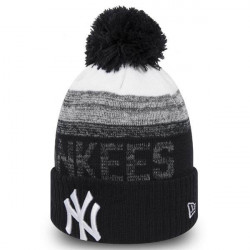 Kids New Era Child MLB Sport Kids 2 Cuff NY Yankees Knit Black - UNI