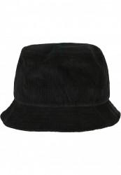 Klobúk Urban Classics Corduroy Bucket Hat black