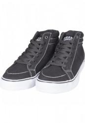Kotníkové tenisky Urban Classics High Canvas Sneaker blk/wht #2