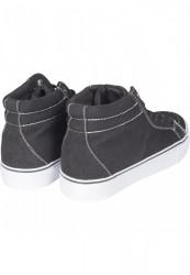 Kotníkové tenisky Urban Classics High Canvas Sneaker blk/wht #3