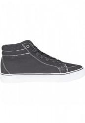 Kotníkové tenisky Urban Classics High Canvas Sneaker blk/wht #4