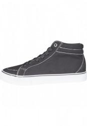 Kotníkové tenisky Urban Classics High Canvas Sneaker blk/wht #5