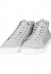 Kotníkové tenisky Urban Classics High Canvas Sneaker gry/wht