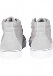 Kotníkové tenisky Urban Classics High Canvas Sneaker gry/wht #1