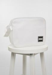 Kozmetická taška Urban Classics Cosmetic Pouch Mesh Gum small white