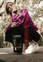 Kozmetická taška Urban Classics Tranparent Cosmetic Bag priehľadná
