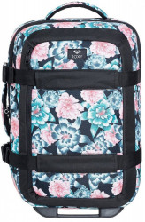 Kufor Roxy Wheelie anthracite S crystal flower 30l