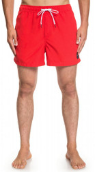 Kúpacie kraťasy Quiksilver Everyday Volley high risk red