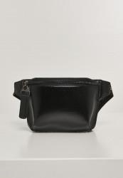 Ľadvinka Urban Classics Imitation Leather Hipbag black