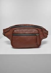 Ľadvinka Urban Classics Imitation Leather Shoulder Bag brown