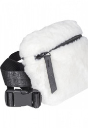 Ľadvinka Urban Classics Teddy Mini Beltbag white #2