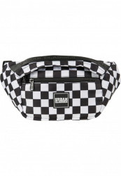 Ľadvinka Urban Classics Top Handle Shoulder Bag black/white/black