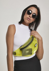Ľadvinka Urban Classics Transparent Shoulder Bag yellow
