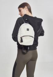 Malý batoh Urban Classics Sherpa Mini Backpack biely
