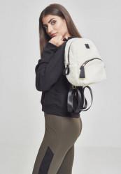 Malý batoh Urban Classics Sherpa Mini Backpack biely #1