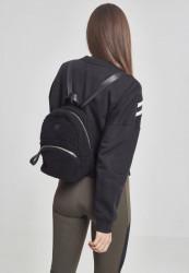 Malý batoh Urban Classics Sherpa Mini Backpack čierny #1