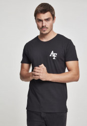 MERCHCODE Air Force Logo Tee Farba: black,