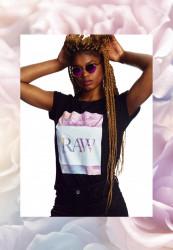2102a8e637 MERCHCODE Dámske tričko Ladies Hustler Raw Tee Farba