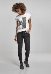 MERCHCODE Dámske tričko Ladies Rita Ora White Wall Tee Farba: white, #1