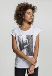 MERCHCODE Dámske tričko Ladies Rita Ora White Wall Tee Farba: white, #2