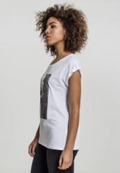 MERCHCODE Dámske tričko Ladies Rita Ora White Wall Tee Farba: white, #3