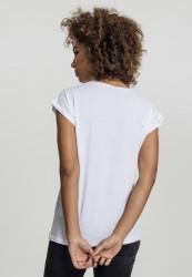 MERCHCODE Dámske tričko Ladies Rita Ora White Wall Tee Farba: white, #4