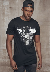 MERCHCODE Meek Mill Mill Chains Tee Farba: black,