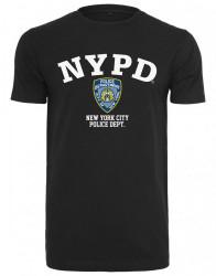 MERCHCODE NYPD Logo Tee Farba: black, #5