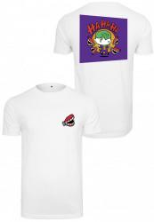MERCHCODE Pánske tričko Comic Joker Tee Farba: white,