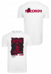 MERCHCODE Pánske tričko Death Row Camo Tee Farba: white,