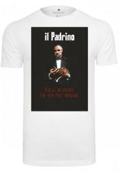 MERCHCODE Pánske tričko Godfather Il Padrino Tee Farba: white, #1