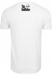 MERCHCODE Pánske tričko Godfather Il Padrino Tee Farba: white, #2