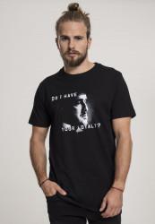 MERCHCODE Pánske tričko Godfather Loyalty Tee Farba: black,