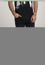 MERCHCODE Pánske tričko Gucci Mane Money Tee Farba: black,