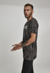 MERCHCODE Pánske tričko Hustler Logo Camo Tee Farba: dark camo, #2