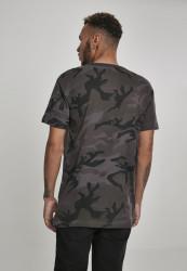 MERCHCODE Pánske tričko Hustler Logo Camo Tee Farba: dark camo, #3