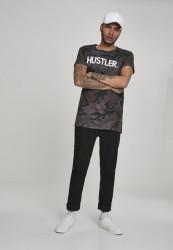 MERCHCODE Pánske tričko Hustler Logo Camo Tee Farba: dark camo, #5