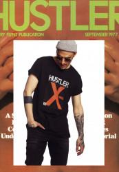 MERCHCODE Pánske tričko Hustler X-Rated Tee Farba: black,