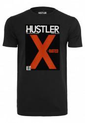 MERCHCODE Pánske tričko Hustler X-Rated Tee Farba: black, #6