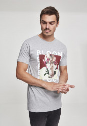 MERCHCODE Pánske tričko MGK Bloom Tee Farba: heather grey,