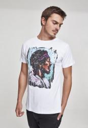 MERCHCODE Pánske tričko Palms Tee Farba: white,