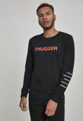 MERCHCODE Thugger Childrose Crewneck Farba: black,
