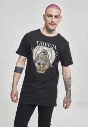 MERCHCODE Trivium Triangular War Tee Farba: black,